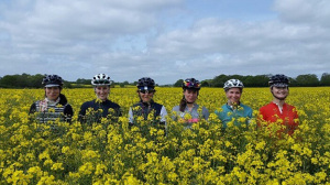Paris Womens Cycling Club - Photo from Ruth Horn
