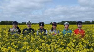 Paris Womens Cycling Club - Photo from Ruth Horn